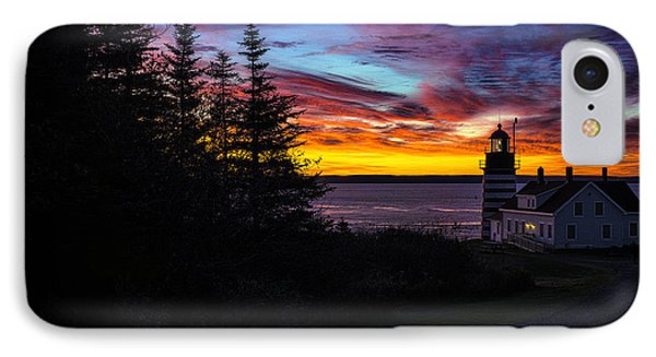 Pre Dawn Light At West Quoddy Head Lighthouse IPhone Case