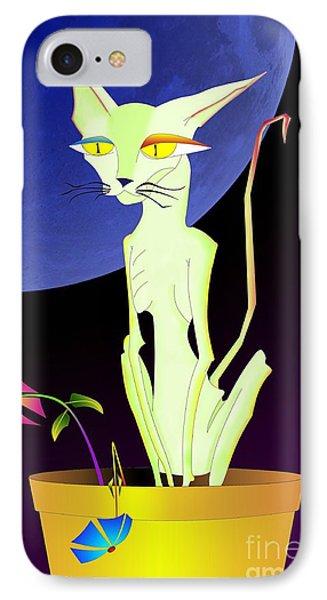 Precious The Cat IPhone Case