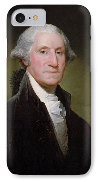 American iPhone 8 Case - President George Washington by War Is Hell Store