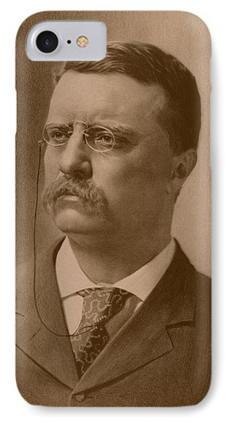 President Theodore Roosevelt - Vintage IPhone Case