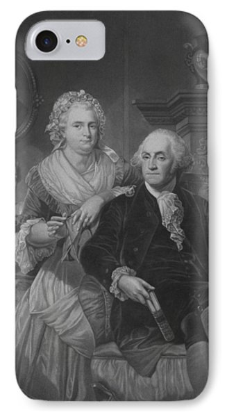 President Washington At Home IPhone Case