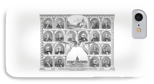 Presidents Of The United States 1776-1876 IPhone Case