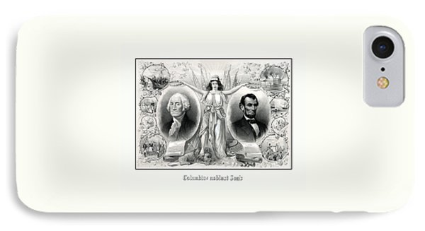 Presidents Washington And Lincoln IPhone Case