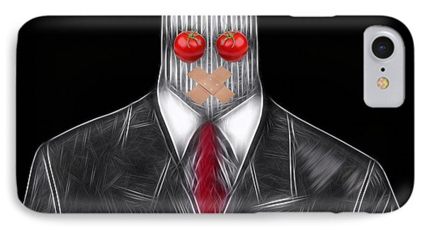 Press Officer IPhone Case