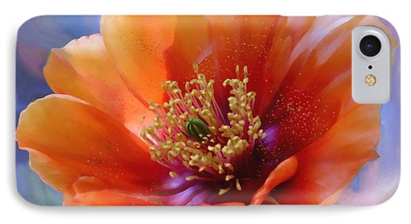Prickly Pear Bloom IPhone Case