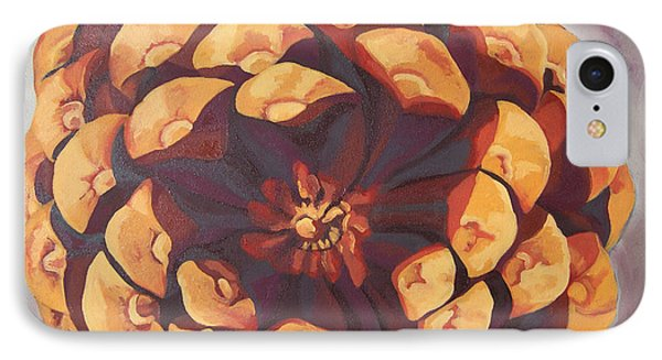 IPhone Case featuring the painting Protected by Erin Fickert-Rowland