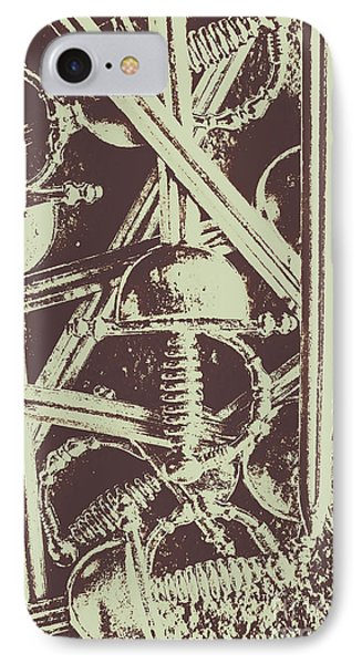 French iPhone 8 Case - Protecting The Iron Gate by Jorgo Photography - Wall Art Gallery
