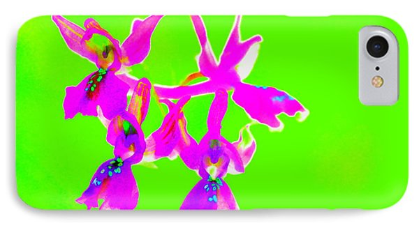 Green Provence Orchid  IPhone Case