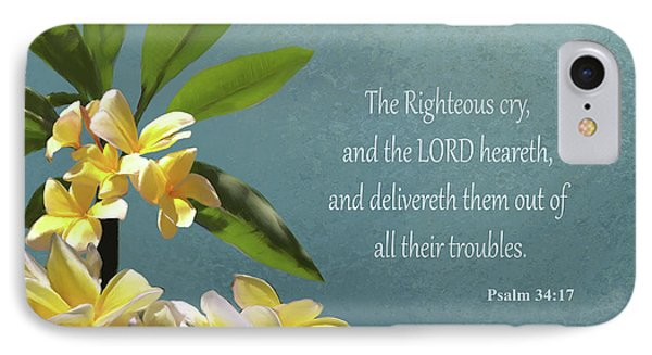 Psalms 01 IPhone Case