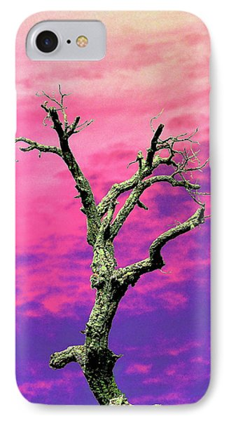 Psychedelic Tree IPhone Case