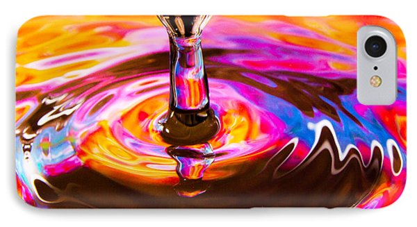 Psychedelic Water Drop IPhone Case