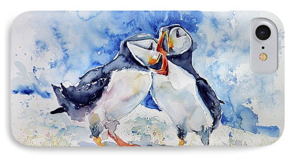Puffins IPhone Case