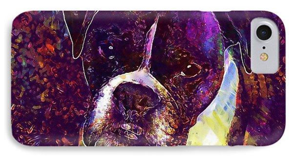 Puppy Boxer Dog Pet Animal Cute  IPhone Case