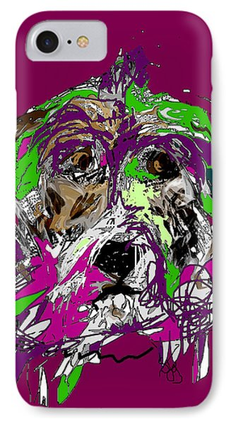 Purple Dog IPhone Case