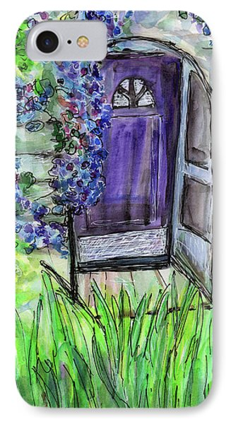 Purple Doorway IPhone Case