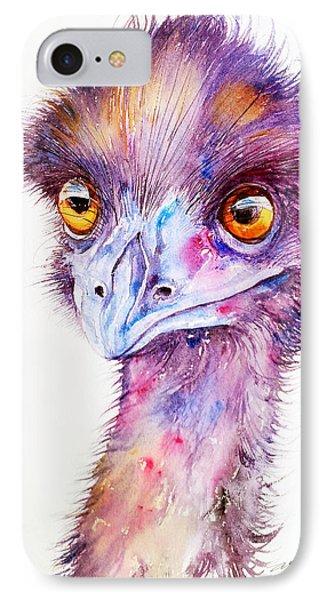 Purple Emu IPhone Case