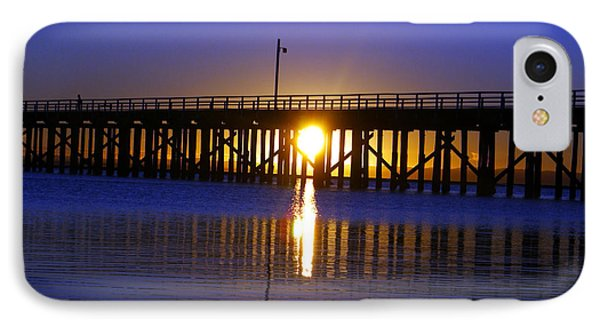 Purple Ocean Sunrise IPhone Case