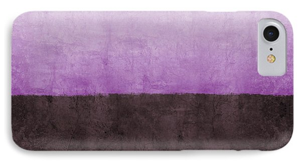 Purple On The Horizon- Art By Linda Woods IPhone Case