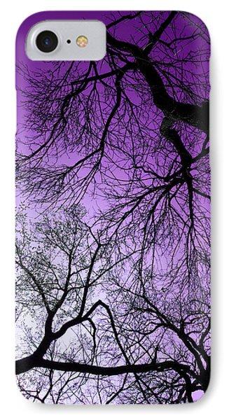 Purple Sky IPhone Case