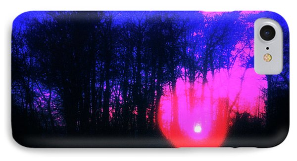 IPhone Case featuring the photograph Purple Sunset by Craig J Satterlee