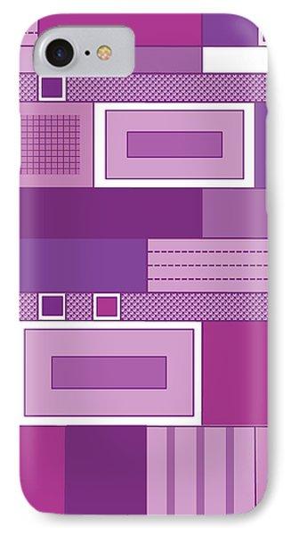Purple Time IPhone Case