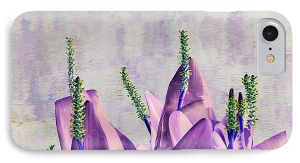 Purple Water Plant IPhone Case