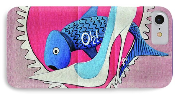 Devoted Fish IPhone Case