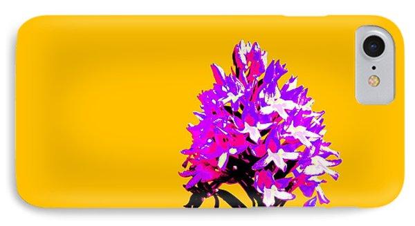 Orange Pyramid Orchid  IPhone Case