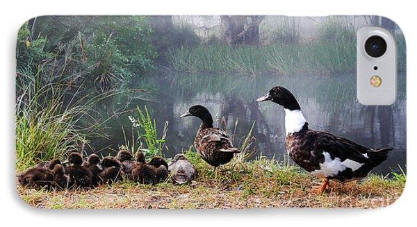 Quack Quack Ducks And A Pond IPhone Case