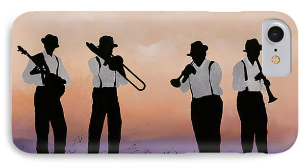 Music iPhone 8 Case - Quattro by Guido Borelli