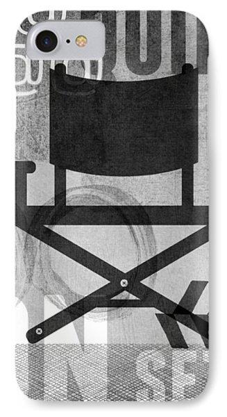 Quiet On Set- Art By Linda Woods IPhone Case