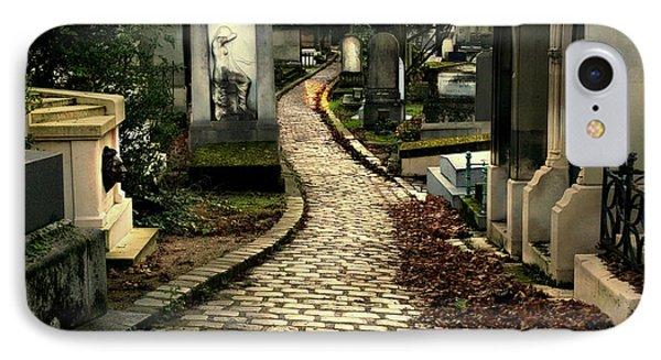 Pere Lachais Cemetery Road IPhone Case