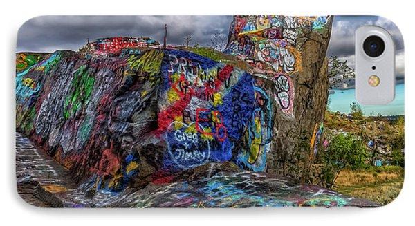 Quincy Quarries Graffiti IPhone Case