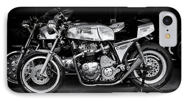 Racing Triumph Special IPhone Case