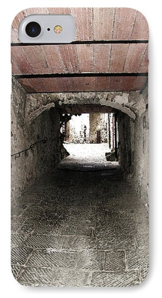 Radda Tunnel IPhone Case