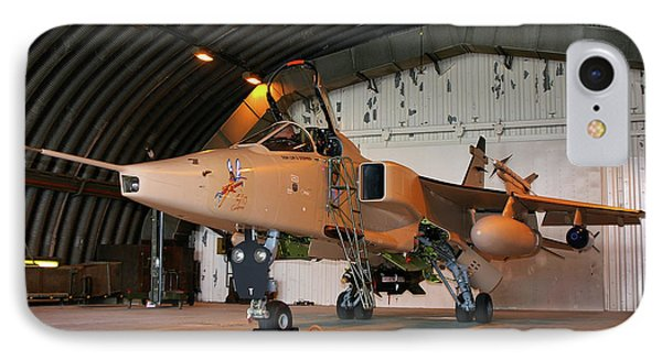 Raf Sepecat Jaguar Gr3a IPhone Case