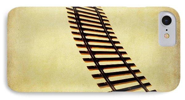 Train iPhone 8 Case - Railway by Bernard Jaubert