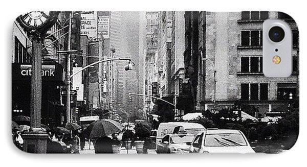 Rain - New York City IPhone Case