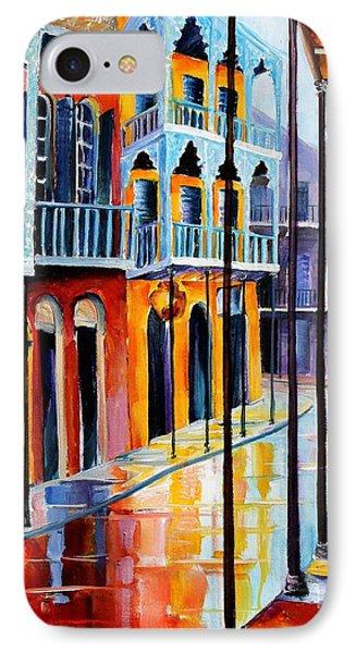 Rain On Royal Street IPhone Case
