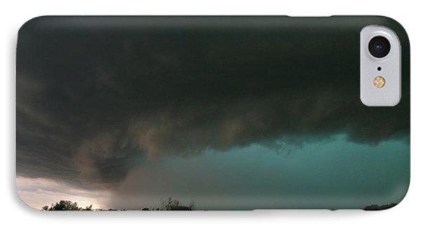 Rain-wrapped Tornado IPhone Case