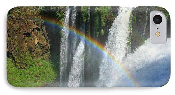 Rainbow At Iguazu Falls IPhone Case