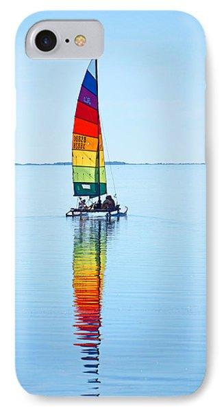 Rainbow Catamaran IPhone Case