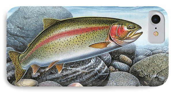 Rainbow Trout Stream IPhone Case