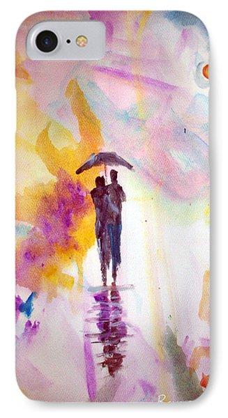 Rainbow Walk Of Love IPhone Case
