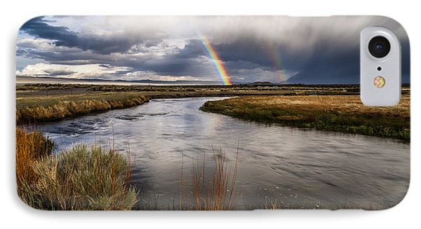 Rainbows At The Upper Owens IPhone Case