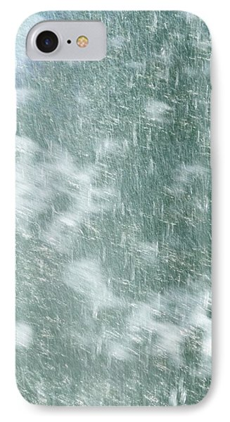 Raining In Abstract IPhone Case