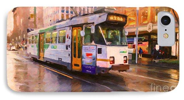 Rainy Day Melbourne IPhone Case