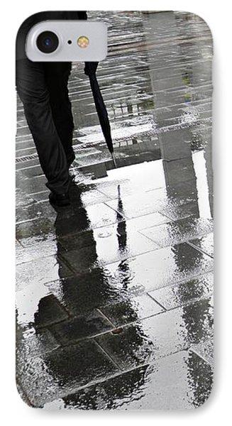 Rainy Morning In Mainz IPhone Case