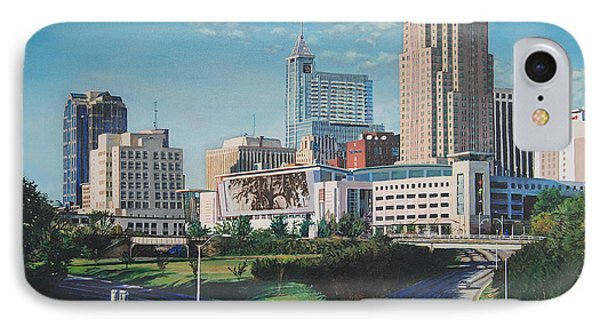 Raleigh Downtown Realistic IPhone Case