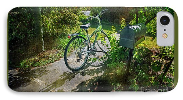 IPhone Case featuring the photograph Raleio Bicycle by Craig J Satterlee